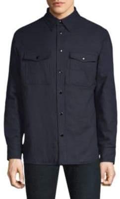 Rag & Bone Wool-Blend Shirt Jacket