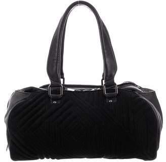 Rebecca Minkoff Leather-Trimmed Suede Bag