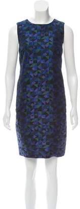 Armani Collezioni Jacquard Mini Dress