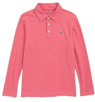 Vineyard Vines Edgartown Long Sleeve Polo