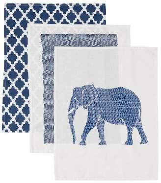 Shiraleah Atlas Kitchen Towels - Set of 3