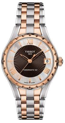 Tissot Women's Two-Tone T072 Automatic Watch, 34mm