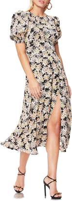 AFRM Danai Floral Puff Sleeve Dress