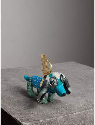 Burberry Tilly The Sausage Dog Cashmere Charm