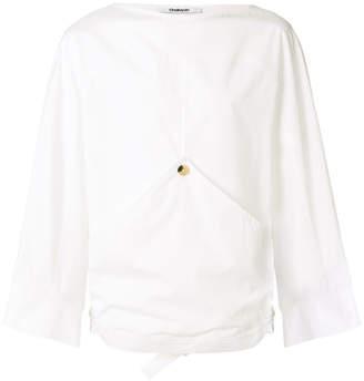 Chalayan single button oversize shirt