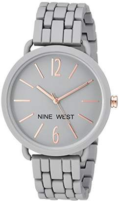 Nine West Women's Quartz Metal and Alloy Dress Watch