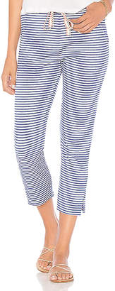 Sundry Stripe Cropped Sweatpants