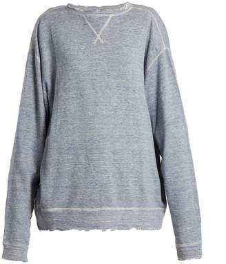 R 13 Linen and cotton-blend sweater