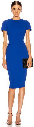 Victoria Beckham Fitted T Shirt Dress in Cobalt | FWRD