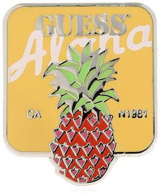 GUESS Farmers Market Pineapple Pin
