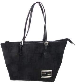 0859e097aced Fendi Leather Tote Bags - ShopStyle