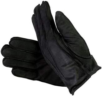 Isotoner Men's Suede Leather Gloves with Thinsulate Lining