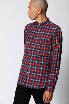 Zadig & Voltaire Torrol Check Grunge Shirt