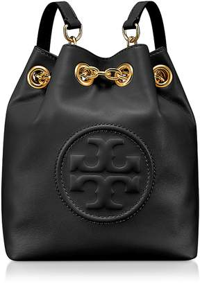 Tory Burch Key Item Black Leather Mini Backpack