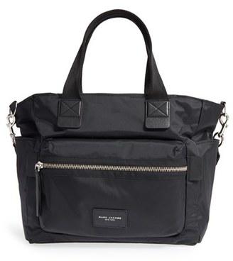 Marc Jacobs 'Biker' Nylon Baby Bag - Black $295 thestylecure.com