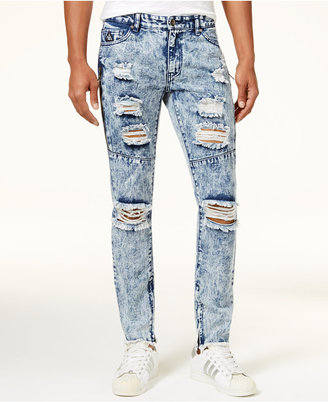 American Stitch Men's Acid Wash Ripped Jeans $60 thestylecure.com