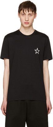 Givenchy Black Empty Star T-Shirt $380 thestylecure.com