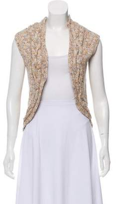 Adam Sleeveless Knit Cardigan