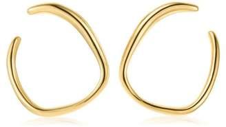 Monica Vinader GP Nura Reef gold vermeil earrings