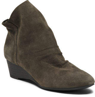 Slouch Suede Booties