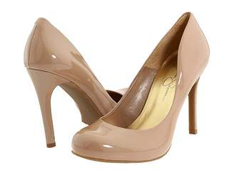 c9483f61f39b Jessica Simpson Nude Patent Leather Shoes - ShopStyle