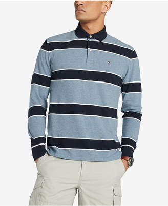 Tommy Hilfiger Men's King Striped Classic Fit Polo Shirt, Created for Macy's