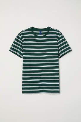 H&M Striped T-shirt - Green