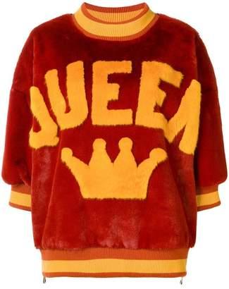 Dolce & Gabbana queen pattern sweater