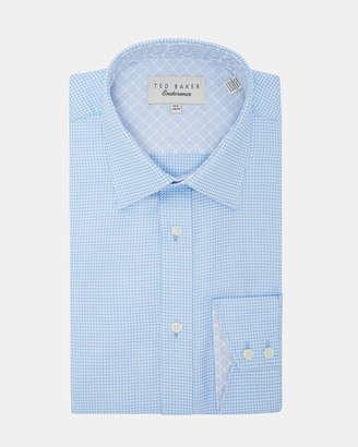 Ted Baker QUAME Twill pattern cotton shirt