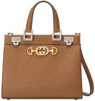 Gucci Zumi grainy leather small top handle bag