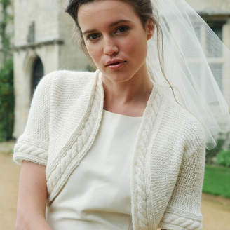 Purl Alpaca Designs Wedding Bonnie Bolero