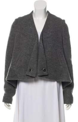 Thakoon Virgin Wool Open Front Jacket