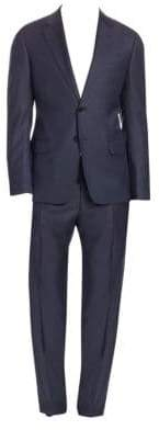 Emporio Armani G-Line Wool Sharkskin Suit