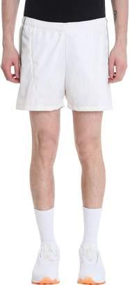 Cottweiler White Nylon Shorts