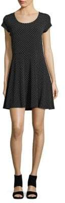 MICHAEL Michael Kors Dotted Cocktail Dress