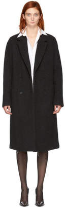 Alexander Wang Grey Wool Car Coat