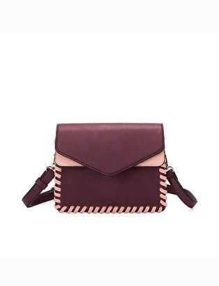 Braided Hem Crossbody Bag