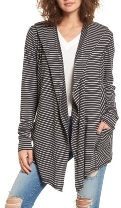 Women's Billabong Make Way Thermal Hooded Cardigan $69.95 thestylecure.com