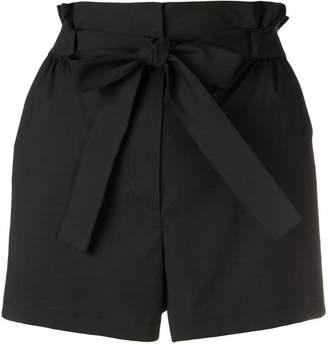 Moschino tie waist shorts