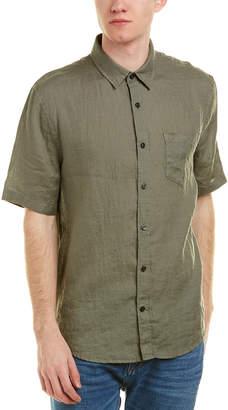 Vince Natural Fit Linen Woven Shirt