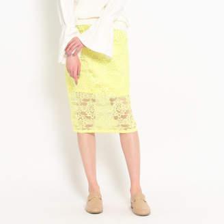 aquagirl (アクアガール) - AG by aquagirl フラワーレースタイトスカート
