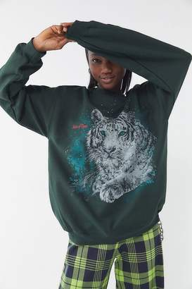Urban Outfitters Tiger Crew-Neck Sweatshirt