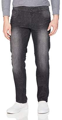 WT02 Men's Washed Stretch Pants,36X32