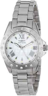 Invicta Women's 12854 Angel Analog Display Swiss Quartz Silver Watch
