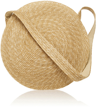 Samuji Circle Straw Bag $300 thestylecure.com