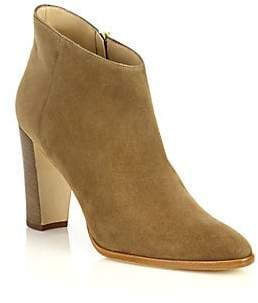Manolo Blahnik Women's Brusta Suede Booties