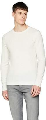 BOSS Casual Men's Tempest T-Shirt (Dark Blue 404)