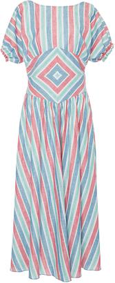 Gl Hrgel Multi Color Striped Dress