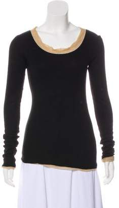 Dolce & Gabbana Cashmere Long Sleeve Sweatshirt