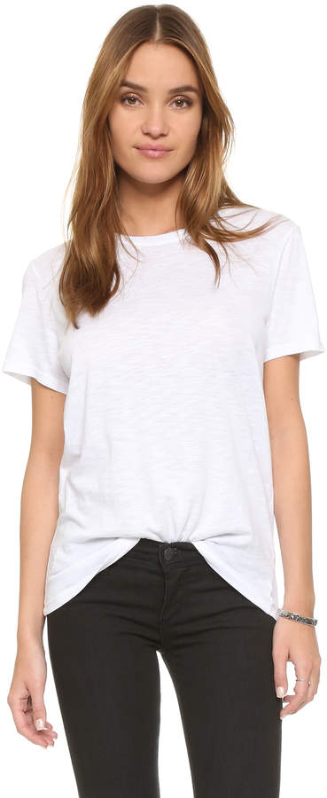 Feel The Piece Nicola Slub Crew Neck Tee